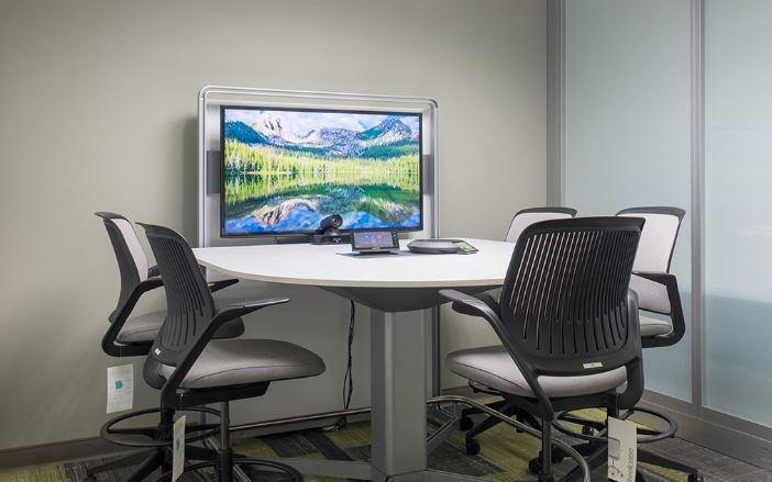 Videoconferentiescherm