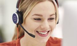 Headset voor callcenters