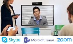 Meetings en video conference